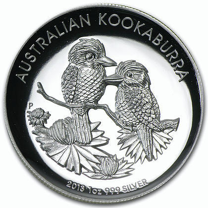 2013 1 Ounce Australian Kookaburra High Relief Silver Proof Coin - Art in Coins