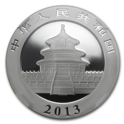 2013 1 Ounce Chinese Panda Silver Coin