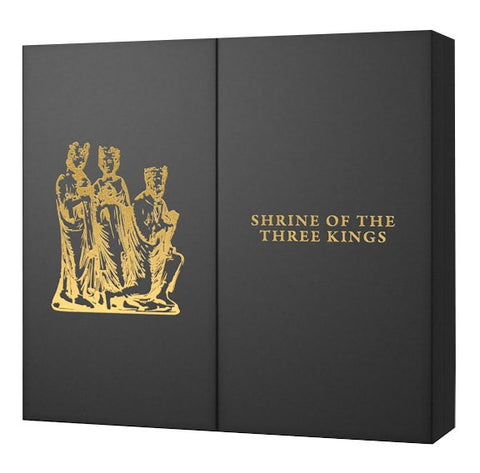 2016 Cook Islands 3 Ounce Shrine Of The Three Kings Silver & Gold Proof Coin Set