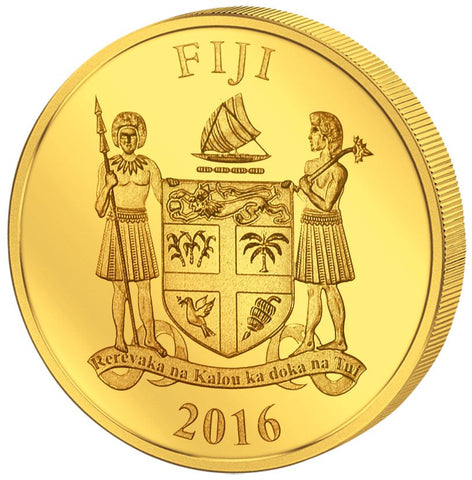 2016 Fiji 4 X 1/2 Gram Smart Collection Eagle .9999 Gold Proof Coin Set