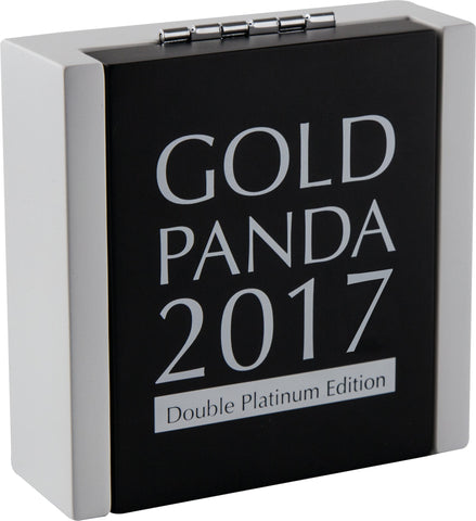 2017 30 Gram Chinese Panda Double Platinum Edition .999 Gold Coin Set