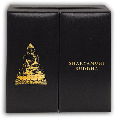 2017 Cook Islands 3 Ounce Silver & 1/4 Ounce Gold Shakyamuni Buddha Coin Set
