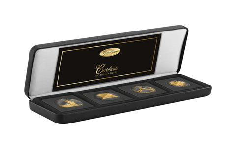 2017 Golden Enigma 1986 - 1989 USA Commemorative Proof Ruthenium and Gold Coin Set