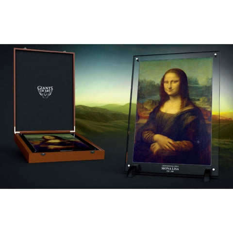 2017 Niue 1 Kilogram Giants of Art Mona Lisa Silver Coin Set - Art in Coins