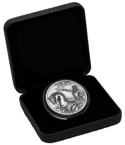 2017 Tokelau 1 Ounce Poseidon Antique Finish Silver Coin Set - Art in Coins