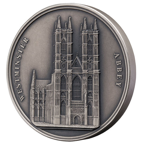 2018 Benin 100 Gram Mauquoy Westminster Abbey Infinity Minting High Relief Silver Coin Set