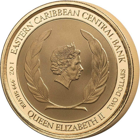 2018 Easter Caribbean Central Bank Silver Coin