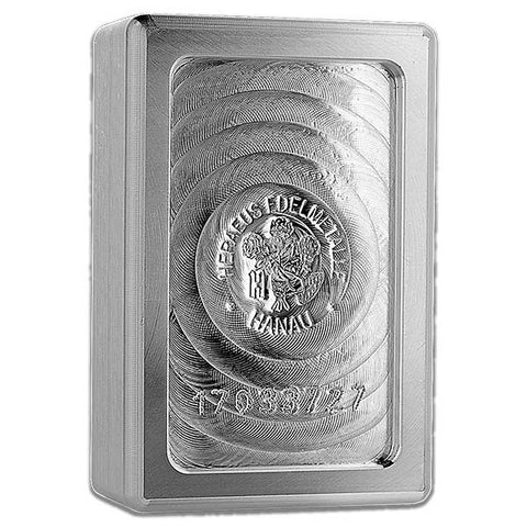 2018 Heraeus 1 Kilogram Lunar Dog  Silver Bar