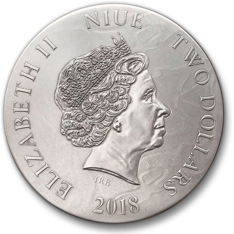 2018 Cassandra Dark Beauties Silver Coin