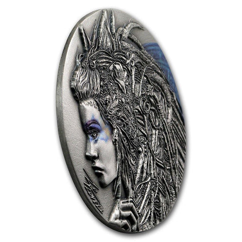 2018 Dark Beauties Cassandra Silver Coin