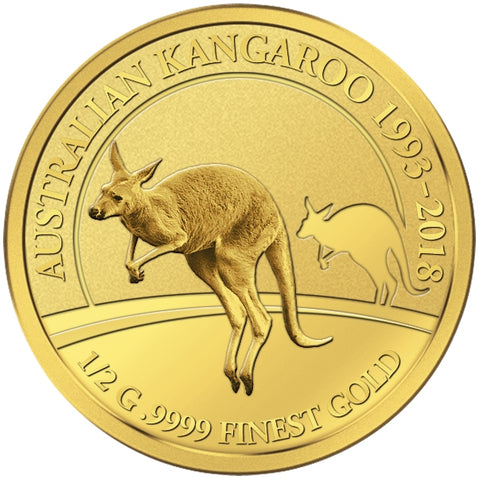 2018 Solomon Islands 4 X 1/2 Gram Smart Collection Kangaroo .9999 Gold Proof Coin 3 - Art in Coins