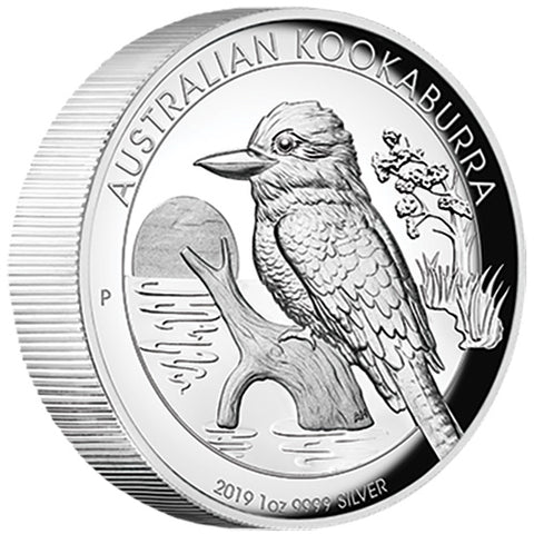 2019 Australia Kookaburra High Relief Silver Proof Coin