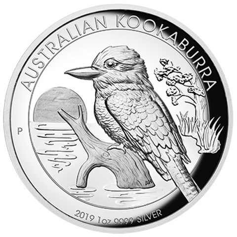 2019 Australia 1 Ounce Kookaburra High Relief Silver Proof Coin