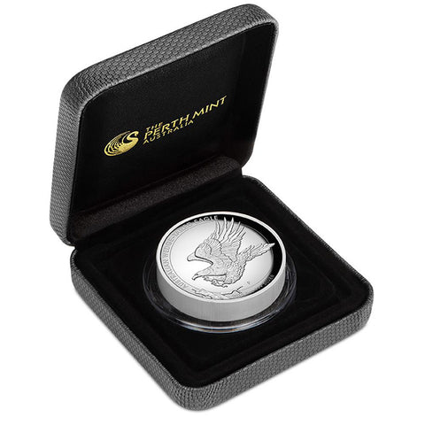 2019 Australia 5 Ounce Wedge Tailed Eagle High Relief .9999 Silver Proof Coin