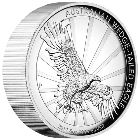 Wedge Tailed Silver Proof Coin