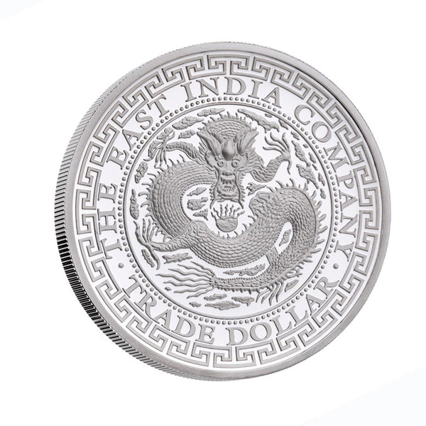 2019 NIUE 1 OUNCE CHINESE TRADE DOLLAR SILVER PROOF COIN