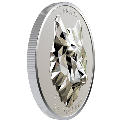 Multifaceted Wolf Coin Royal Canadian Mint