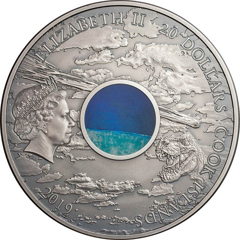 2019 Chicxulub Crater Meteorite Silver Coin