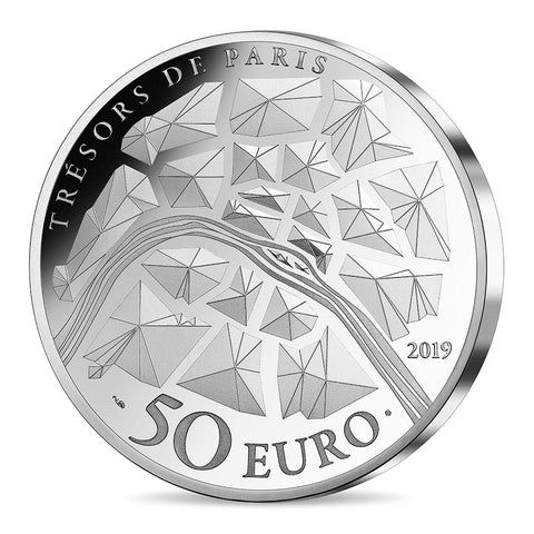 2019 Eiffel Tower Silver Proof Coin