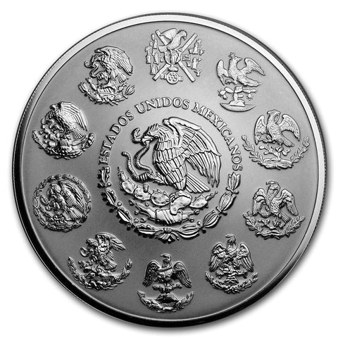 2019 Mexico Libertad Reverse Proof .999 Silver Coin Obverse