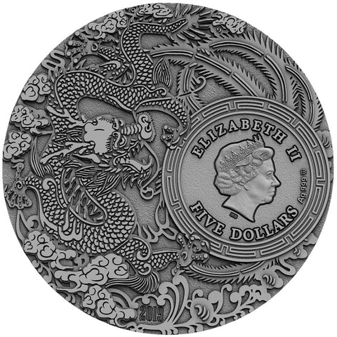 2019 Niue Guan Yu Chinese Heroes High Relief Silver Coin