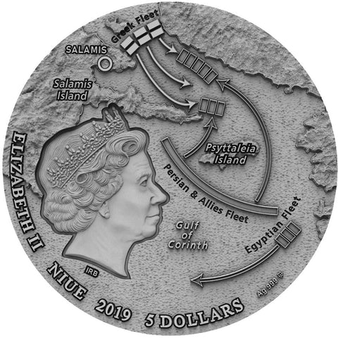 2019 Battle of Salamis Silver Coin