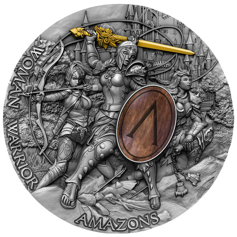 2019 Amazons Women Warriors Silver Coin