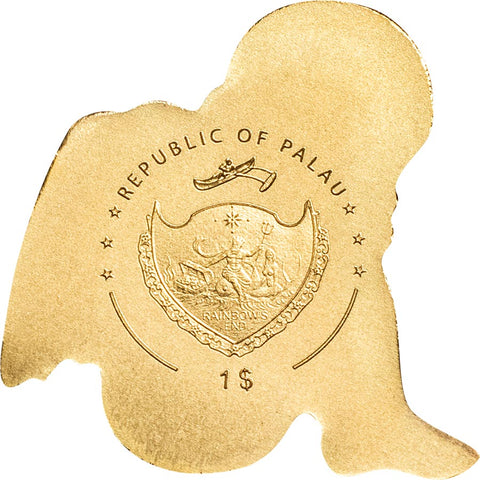 Palau My Guardian Angel Gold Coin