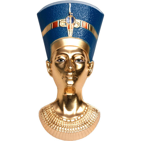 2019 Palau 3 Ounce Nefertiti Bust 3D Shaped Gold Gilded .999 Silver Coin