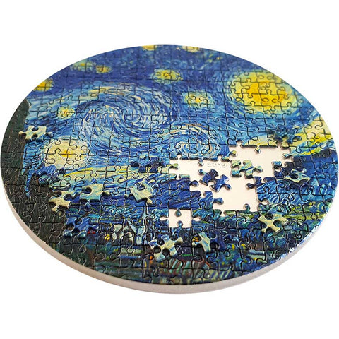 Vincent Van Gogh Starry Night Silver Coin
