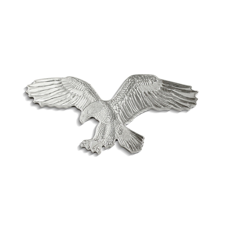 2019 Solomon Islands 1 Ounce Hunters of the Sky Bald Eagle .9999 Shaped Silver Coin