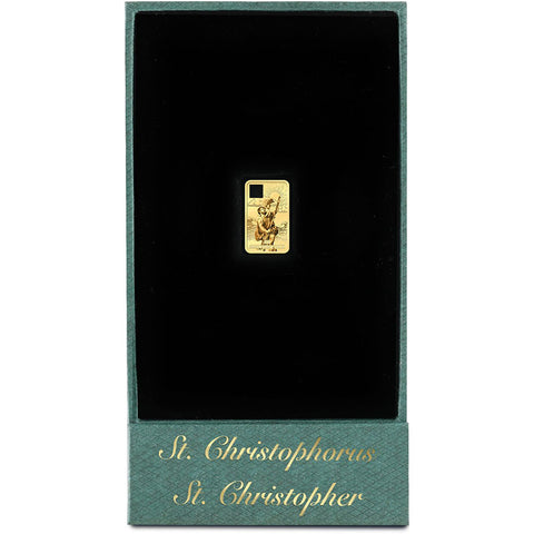 St. Christopher's Gold Pendant