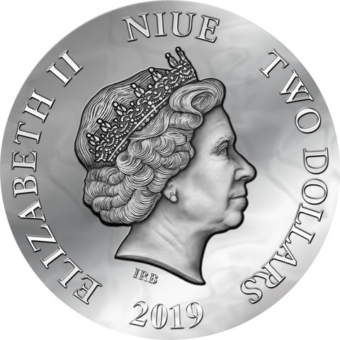 2019 Dark Beauties Evanesca Silver Coin