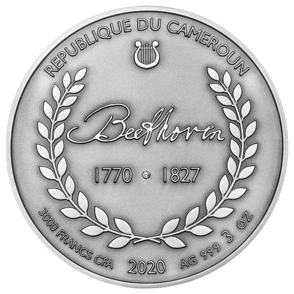 2020 Beethoven Silver Coin