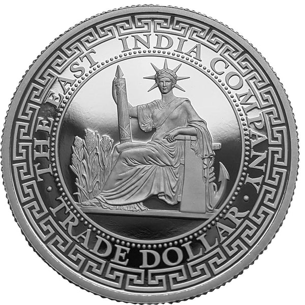2020 NIUE 1 OUNCE FRENCH PIASTRE TRADE DOLLAR SILVER PROOF COIN