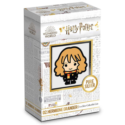 2020 Niue 1 Ounce Harry Potter - Chibi Hermione Granger Color Silver Proof Coin