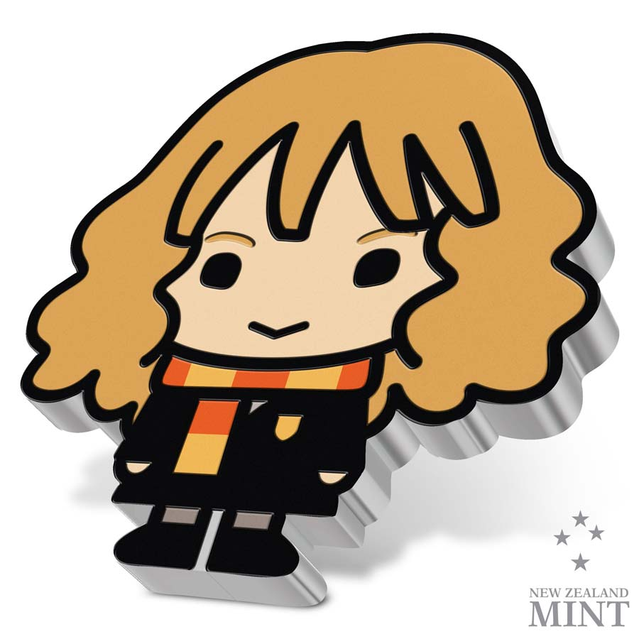 2020 Niue 1 Ounce Harry Potter - Hermione Granger Chibi Series Color Silver Proof Coin