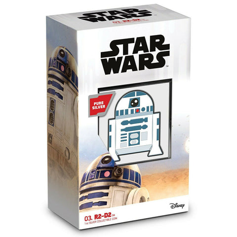 R2-D2 Chibi Star Wars Series Silver Proof Coin