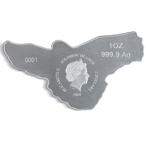 Red-Tailed Hawk Reverse Proof Silver Coin