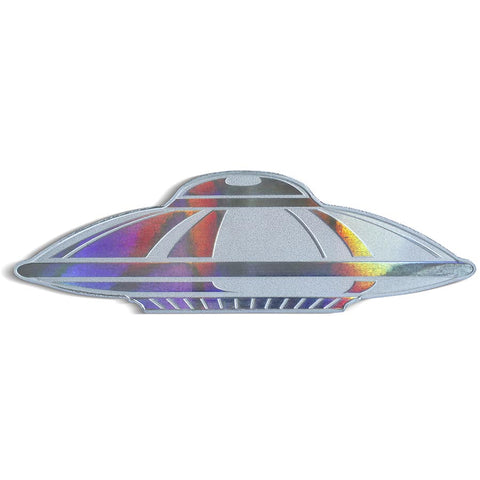 2020 Solomon Islands 1 Ounce PAMP Hologram UFO Shaped .9999 Silver Coin