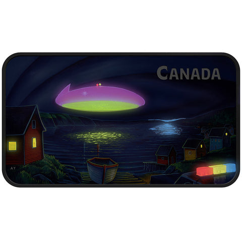 2020 Canada Unexplained Phenomena Clarenville Event UV Silver Proof Coin