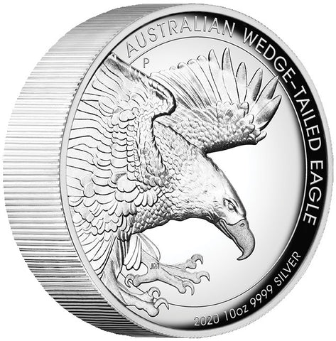 2020 Australia 10 Ounce Wedge Tailed Eagle High Relief Coin