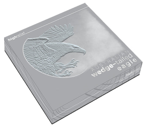 Wedge-Tailed Eagle 10 Ounce High Relief .9999 Silver Proof Coin