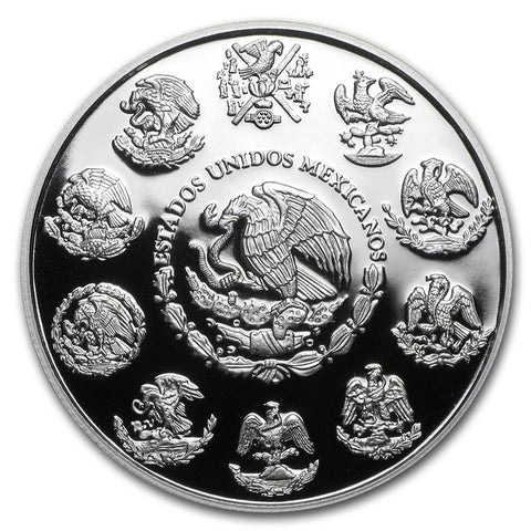 2020 Mexico 5 Onza Libertad Silver Proof Coin