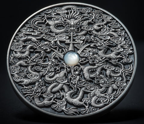 2020 Niue Nine Dragons Silver Coin