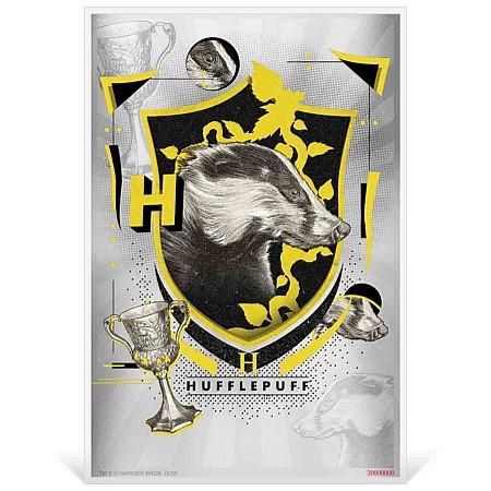 2020 Niue 5 Gram Harry Potter Hogwarts House Banners Hufflepuff Silver Coin Note