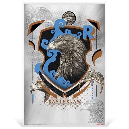 2020 Niue 5 Gram Harry Potter Hogwarts House Banners Ravenclaw Silver Coin Note
