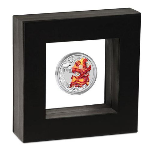 2020 Tuvalu Chinese New Year Silver Coin