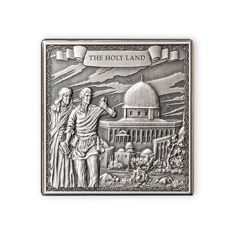 2021 Gibraltar 1 Kilogram Journey of Marco Polo 750th Anniversary Silver Coin