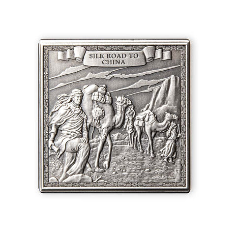 2021 Gibraltar Journey of Marco Polo Silver Coin
